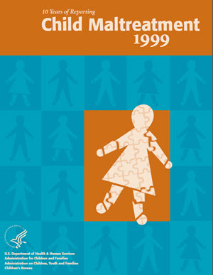 Graphic of Child Maltreatment 1999 Cover