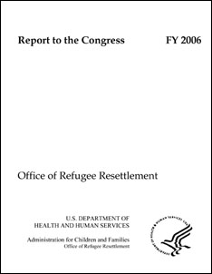 Annual Report to Congress 2006 cover