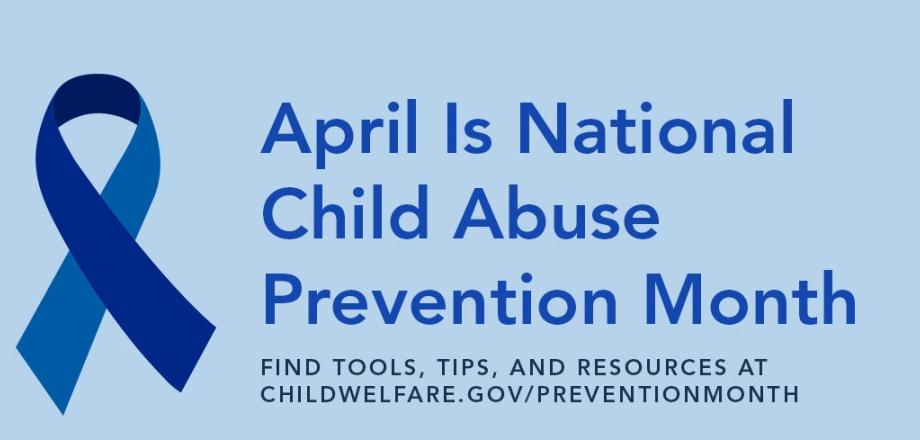 April is National Child Abuse Prevention Month - Blue Ribbon