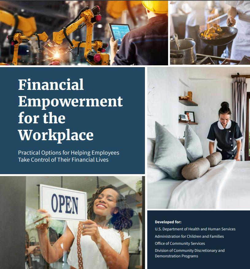 Cover page of Financial Empowerment for the Workplance guide