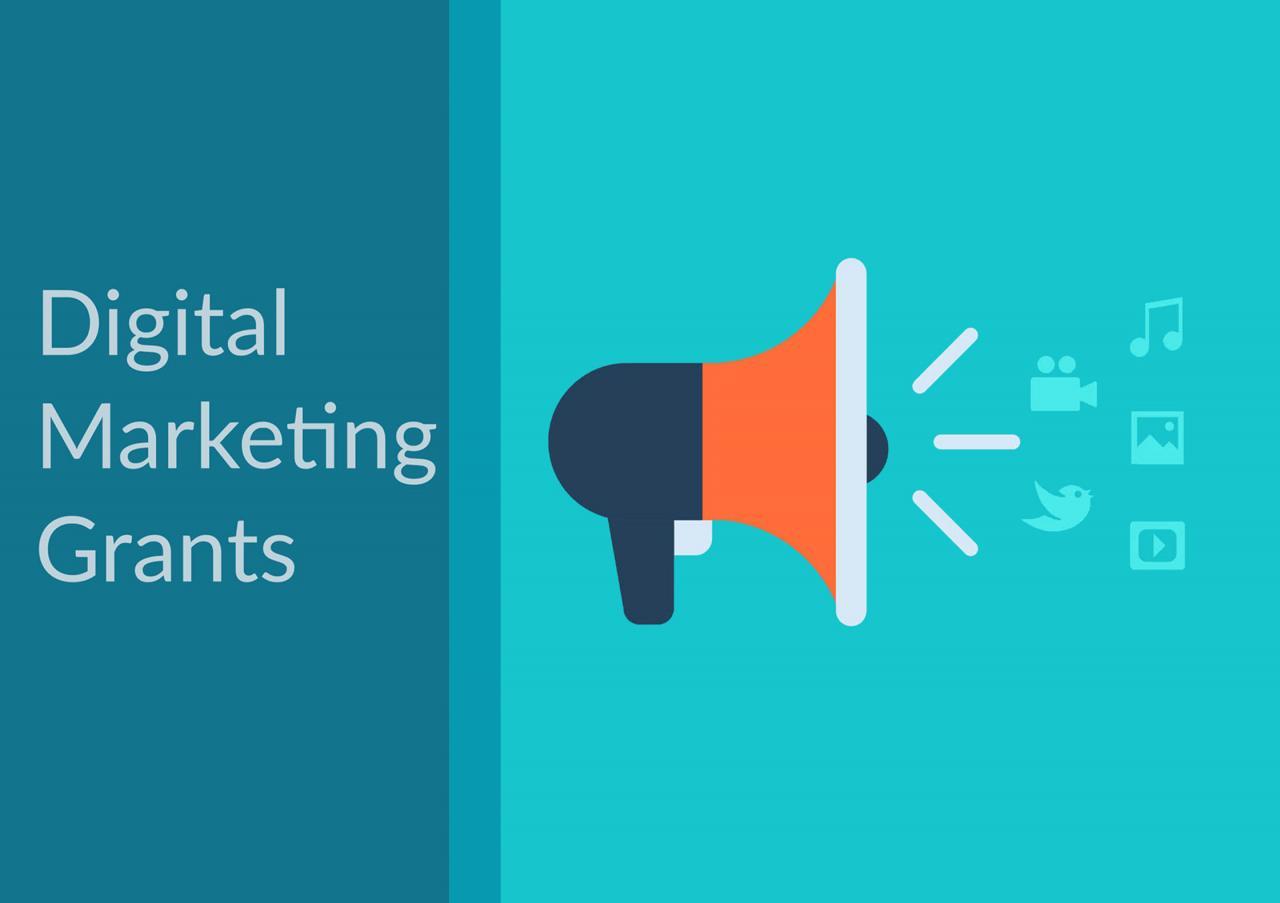 Digital Marketing Grants Promotion Image