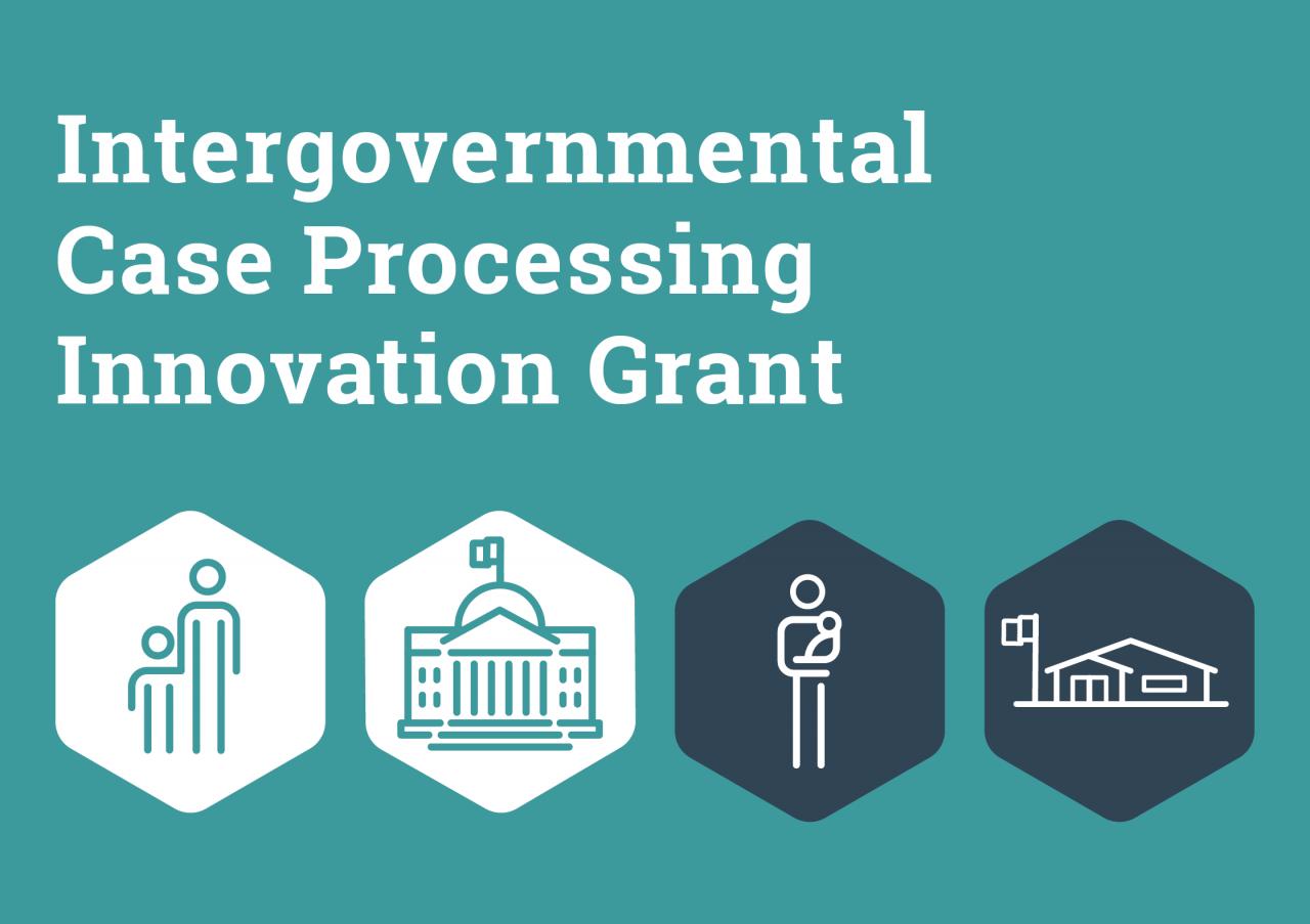 Intergovernmental Case Processing Innovation Grant
