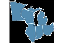 Map of region five