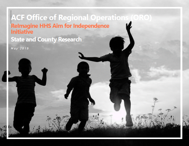 ORO ReImagine HHS AFI State and County Research Cover Page