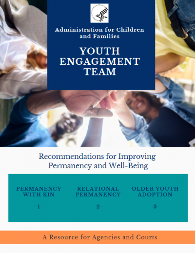 Youth Engagement Team Recommendations Cover