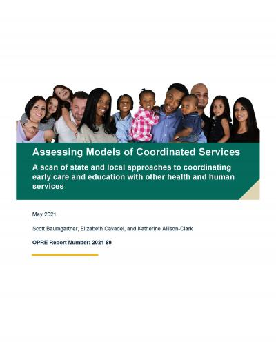 Assessing Models of Coordinated Services Cover image
