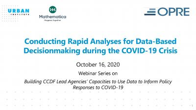 cover image for data-based decisionmaking during COVID-19