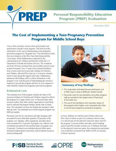 PREP_IA_Cost Brief_cover image