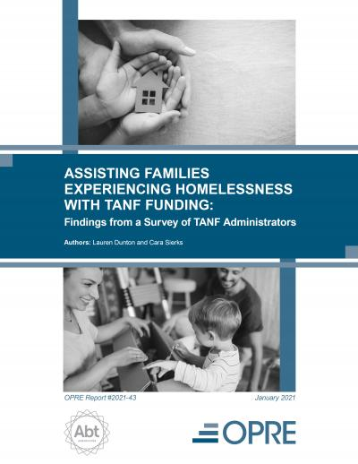 Cover image for Assisting Families Experiencing Homelessness with TANF Funding