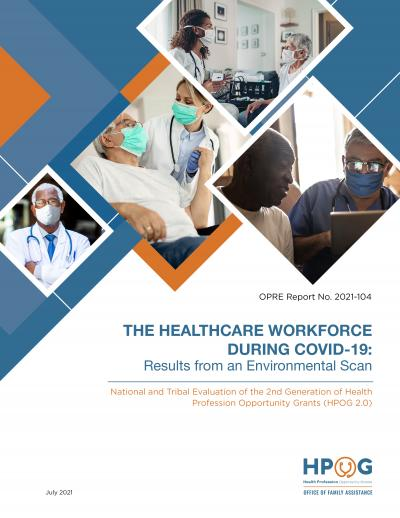 Cover image for The Healthcare Workforce during COVID-19: Results from an Environmental Scan