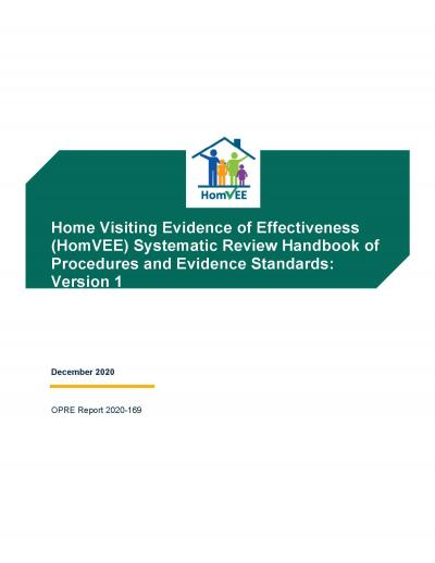 Cover image for HomVEE Handbook of Procedures and Evidence Standards: Version 1