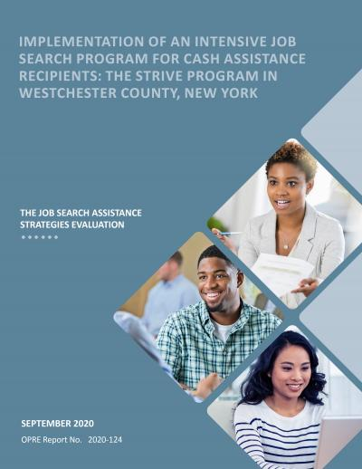 cover image for Implementation of an Intensive Job Search Program