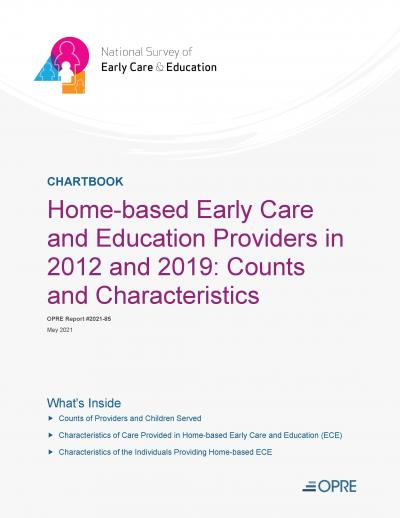 Cover image for Home-based Early Care and Education Providers in 2012 and 2019