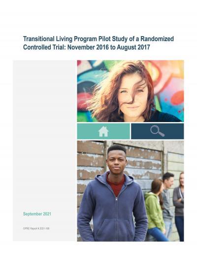 Cover image for Transitional Living Program Pilot Study