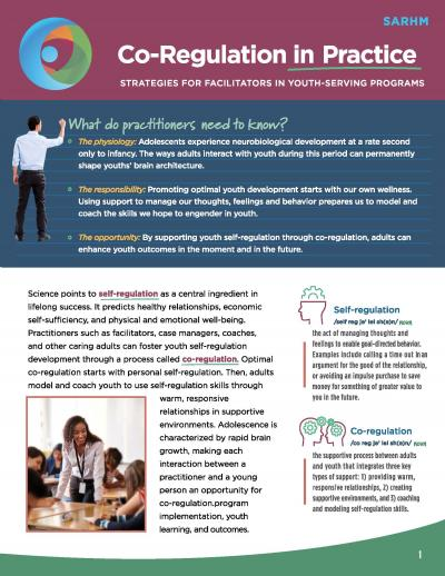 Cover image for Co-Regulation in Practice: Strategies for Practitioners Who Serve Youth Aged 14-24