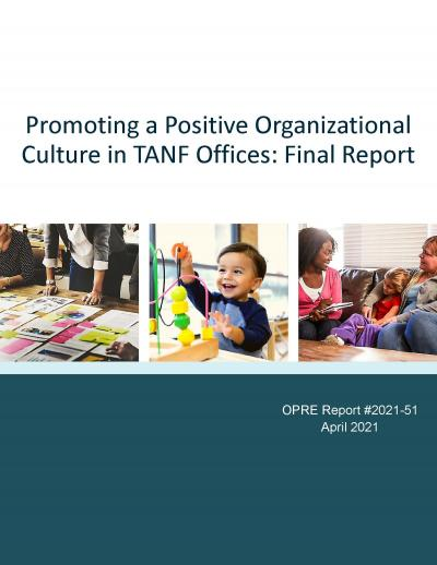 Cover image for TANF Office Culture Report