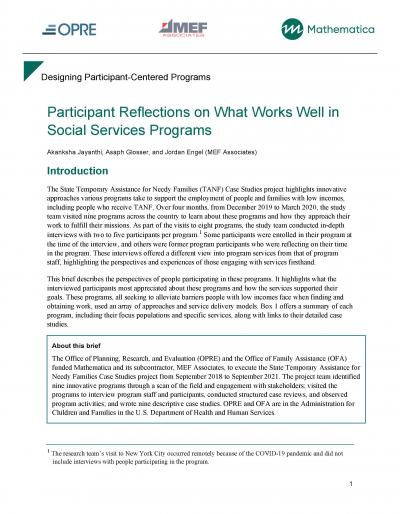 Cover image for Designing Participant-Centered Programs