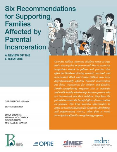 Cover image for Six Recommendations for Supporting Families Affected by Parental Incarceration: A Review of the Literature