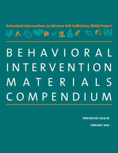 Behavioral Intervention Materials Compendium Cover