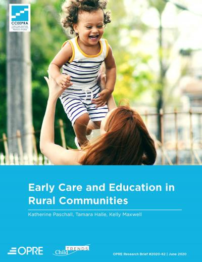 This is the cover of Early Care and Education in Rural Communities Cover