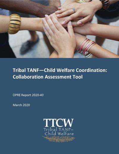 This is the Tribal TANF-Child Welfare Coordination: Collaboration Assessment Tool Cover