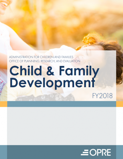 Cover to Child and Family Development FY2018 Report
