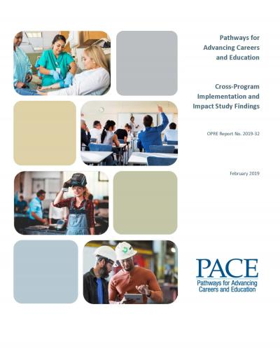 Cover to PACE Cross-Program Implementation and Impact Study Findings