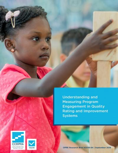 Cover from QRIS Program Engagement Brief