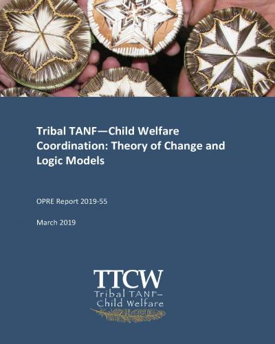 Tribal TANF—Child Welfare Coordination: Theory of Change and Logic Models Cover