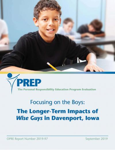 Focusing on the Boys: The Longer-Term Impacts of Wise Guys in Davenport, Iowa Cover