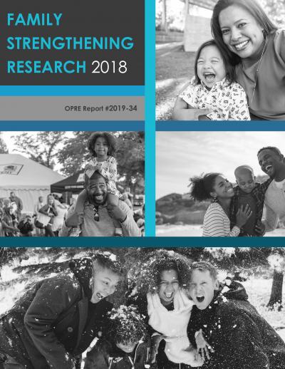 Cover of Family Strengthening Research 2018