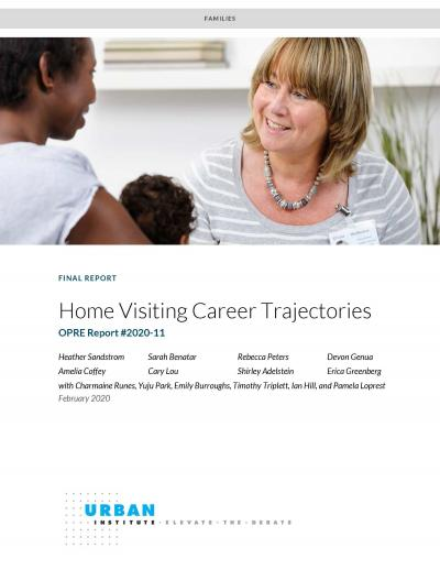 """Cover of """"Home Visiting Career Trajectories Final Report"""""""