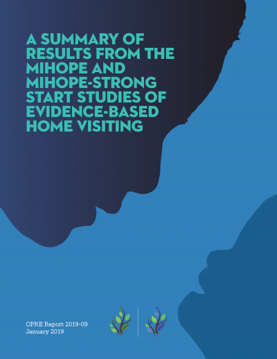 A Summary of Results from the MIHOPE and MIHOPE-Strong Start Studies Of Evidence-Based Home Visiting Cover