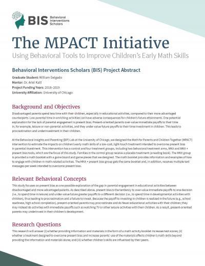 MPACT Cover