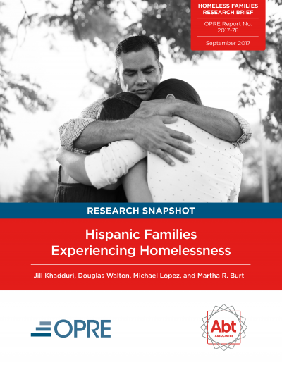 Hispanic Families Experiencing Homelessness