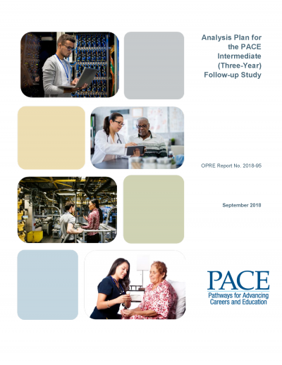 Analysis Plan for the PACE Intermediate (Three-Year) Follow-up Study Cover
