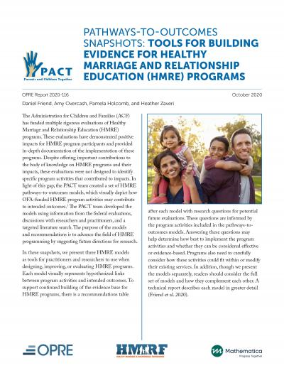cover image for the PACT PTO HMRE report