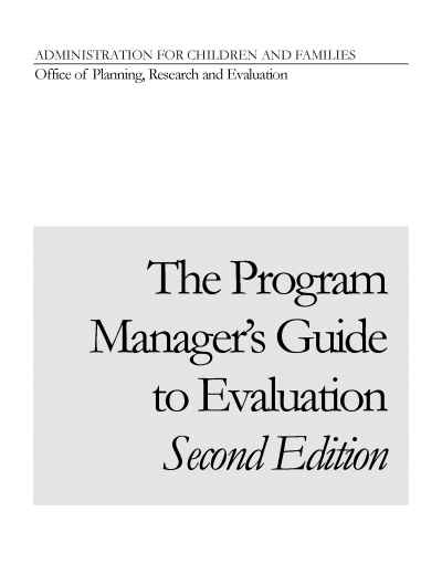 The Program Manager's Guide to Evaluation, Second Edition Cover