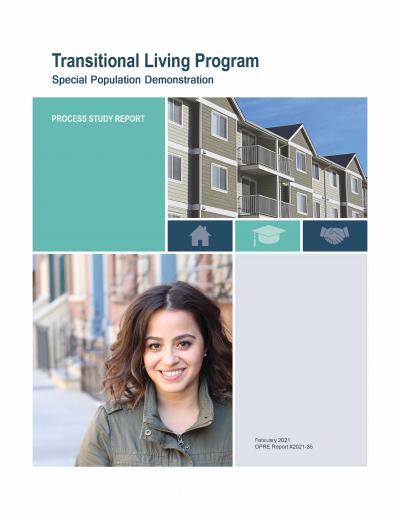 Cover image for Transitional Living Program Special Population Demonstration Report