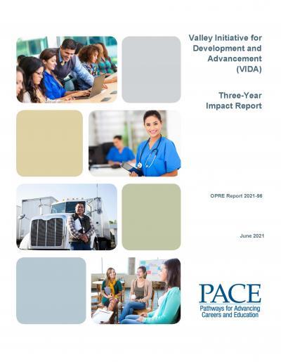 VIDA Three-Year Impact Report cover image