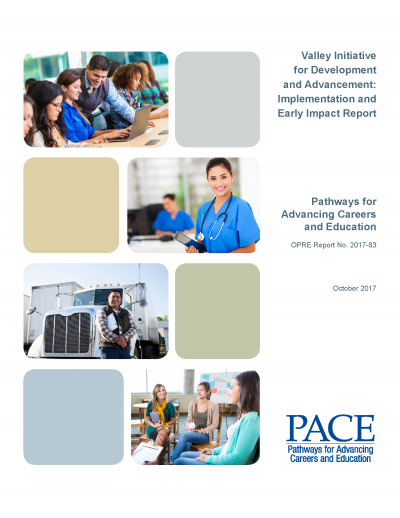 Valley Initiative for Development and Advancement: Implementation and Early Impact Report Cover