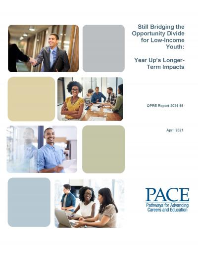 Cover image for Year Up Longer-Term Impact Report